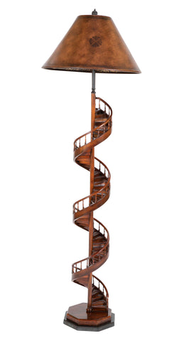 Architects Spiral Staircase Model Floor Lamp