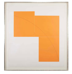 "A complete set of ""Three Aquatints"" Prints by Robert Mangold."