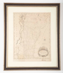 A Map of Vermont Dated 1800