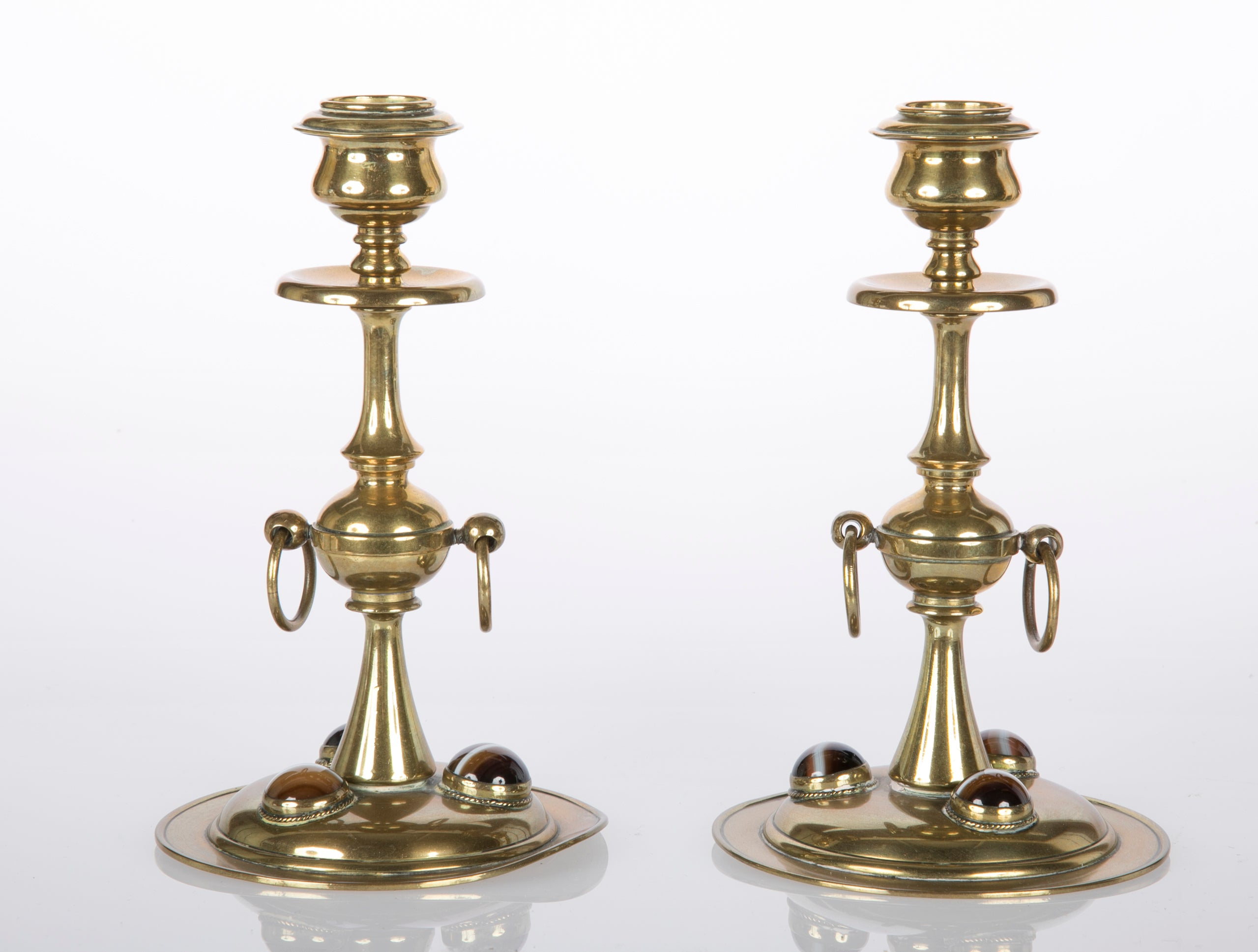 Arts and Crafts Candlesticks