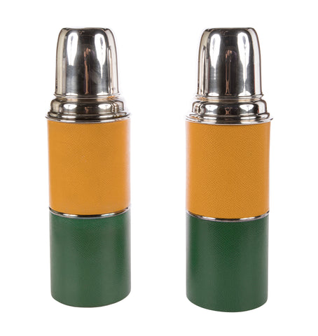 Pair of Hermes Thermos