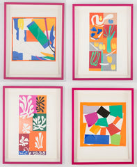Group of Four Lithographs by Henri Matisse.