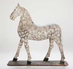 Large Folk Art Trade Sign of a Horse