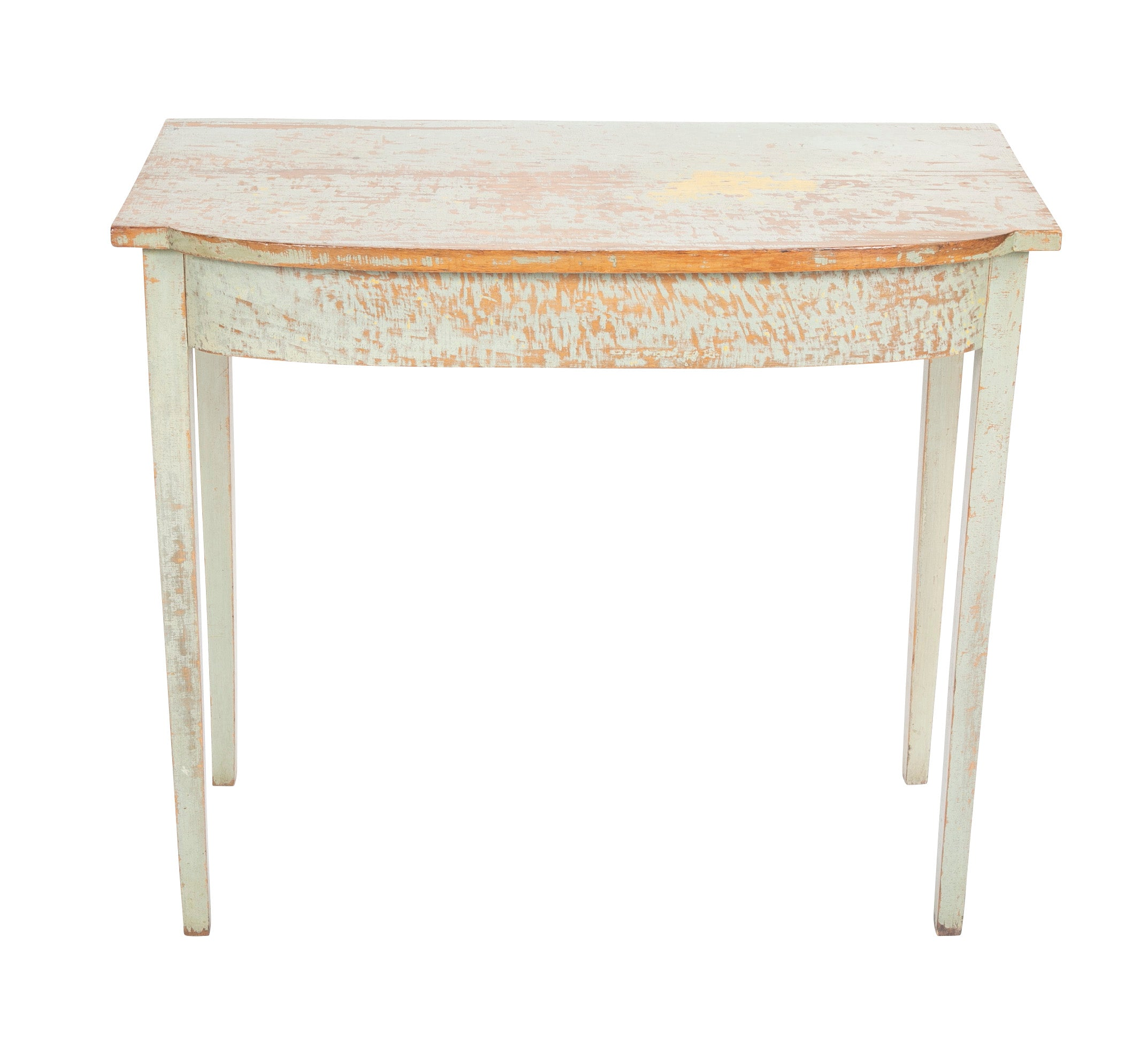 American Pine Painted Console Table