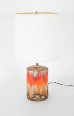 Fat Lava Glaze Ceramic Lamp