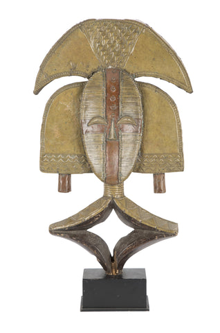 Brass and Copper Kota Reliquary