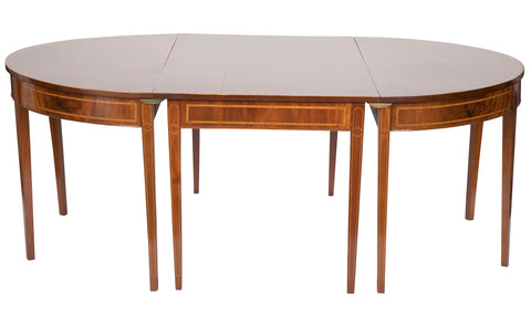 Large Sheraton Dining Table