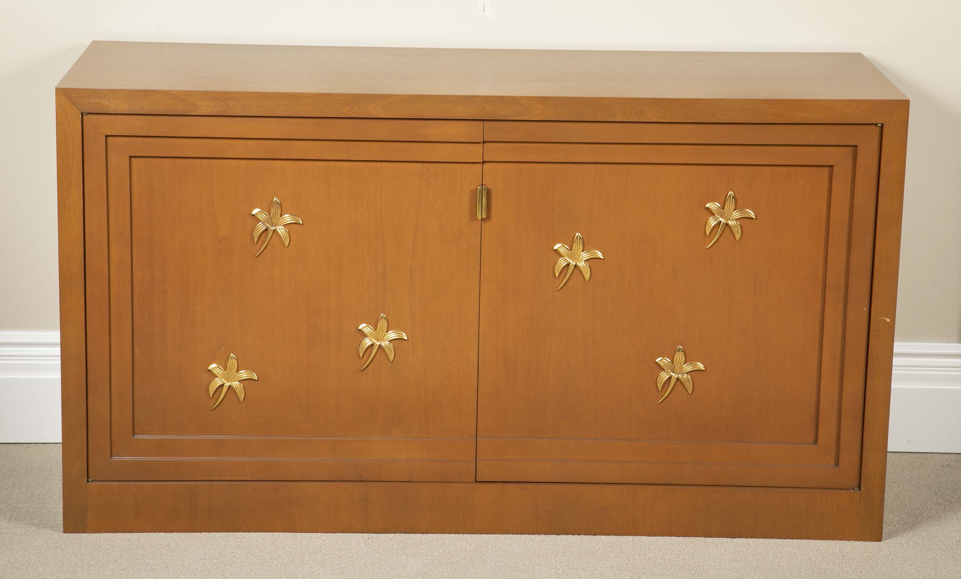 A Pair of T-H Robsjohn-Gibbings Cabinets for Saridis of Athens.