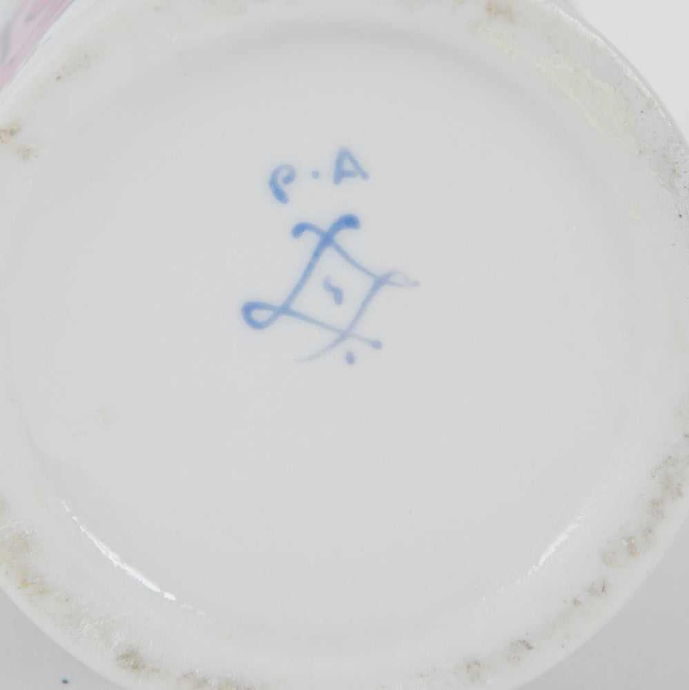 "A Paris Porcelain Pharmacy Jar Inscribed ""Cocaine"""