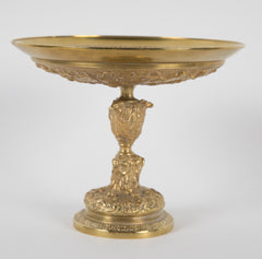A Beautifully Cast 19th Century French Ormolu & Bronze Tazza