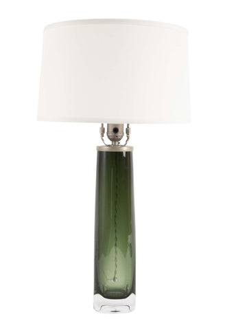 Carl Fagerlund Cased Glass Lamp for Orrefors