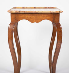 "Louis XV Cabaret Table with Rare ""Breche d'Alep"" Marble Top"