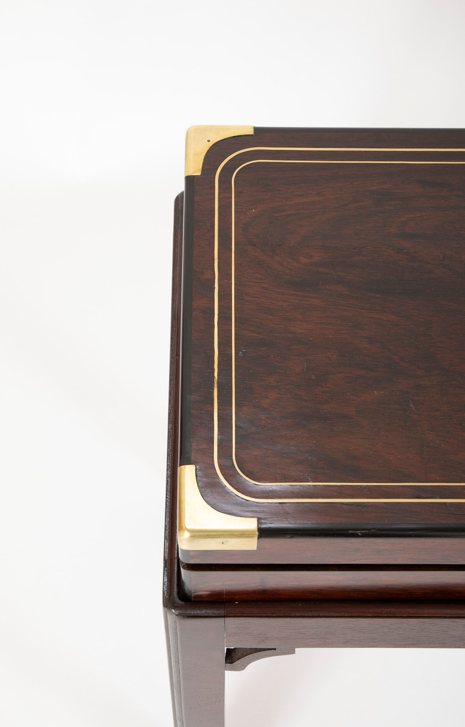 English Regency Rosewood Gun Box on Custom Stand