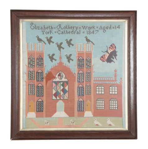 English Needlepoint of York Cathedral