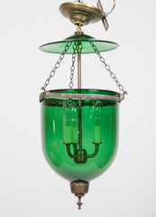 Green Glass Lantern
