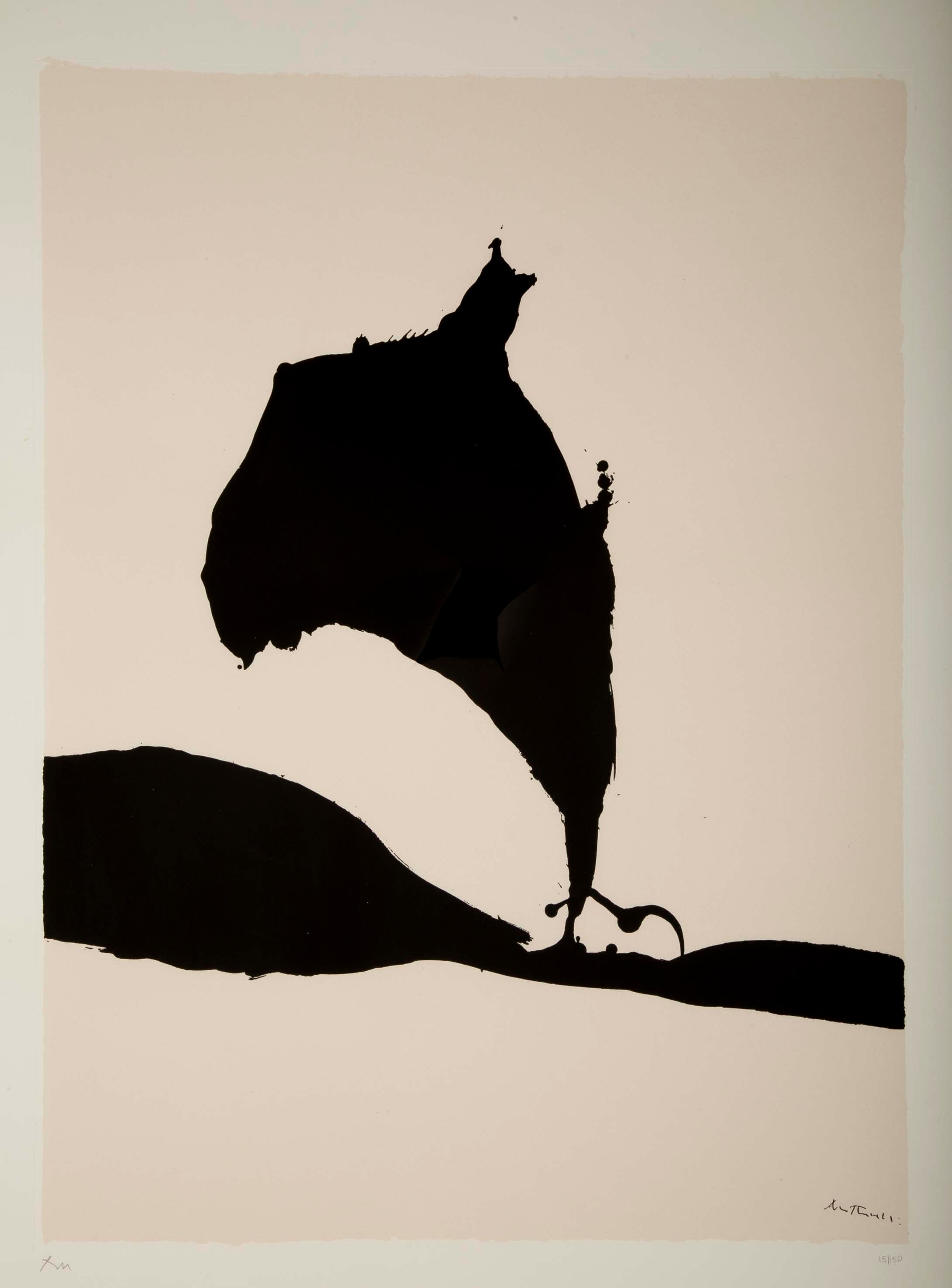 """Africa 9"" Silkscreen by Robert Motherwell"