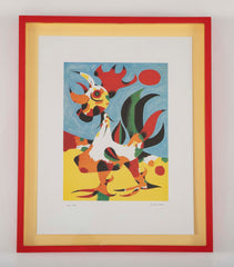"""Le Coq"" Lithograph by Paul Klee"
