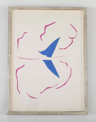 """Bateau"" Original Color Lithograph by Henri Matisse"