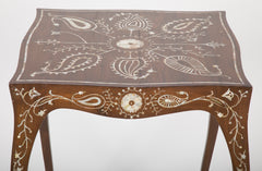 Table Inlaid with Mother of Pearl
