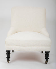 Napoleon III Upholstered Side Chair.