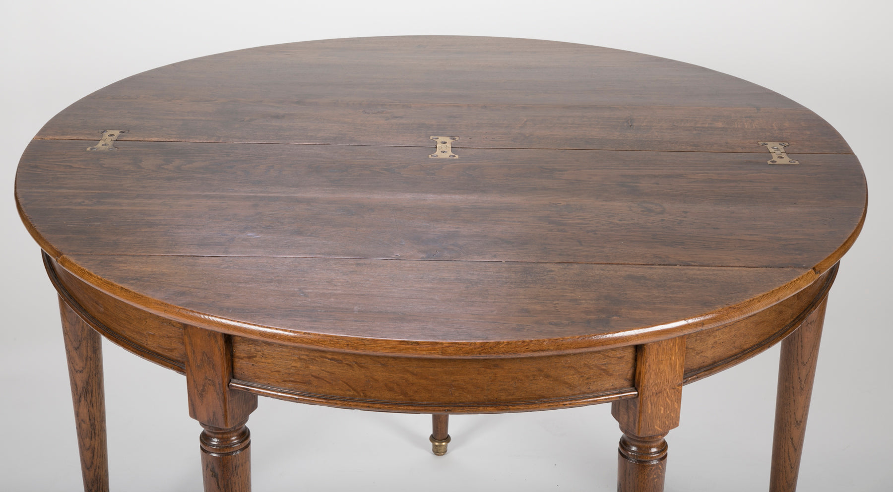 French Demilune Card Table
