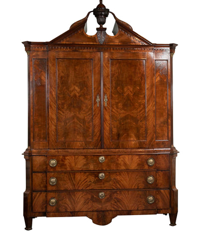 18th Century Dutch Linen Press