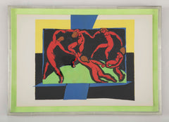 Henri Matisse Supervised Lithograph from his Original Cut Paper Maquette