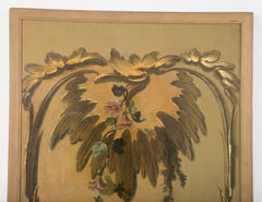 Set of Four French Painted Panels