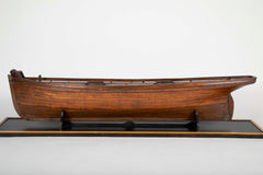 Extremely Large 19th Century Plank on Frame Model of an American Schooner