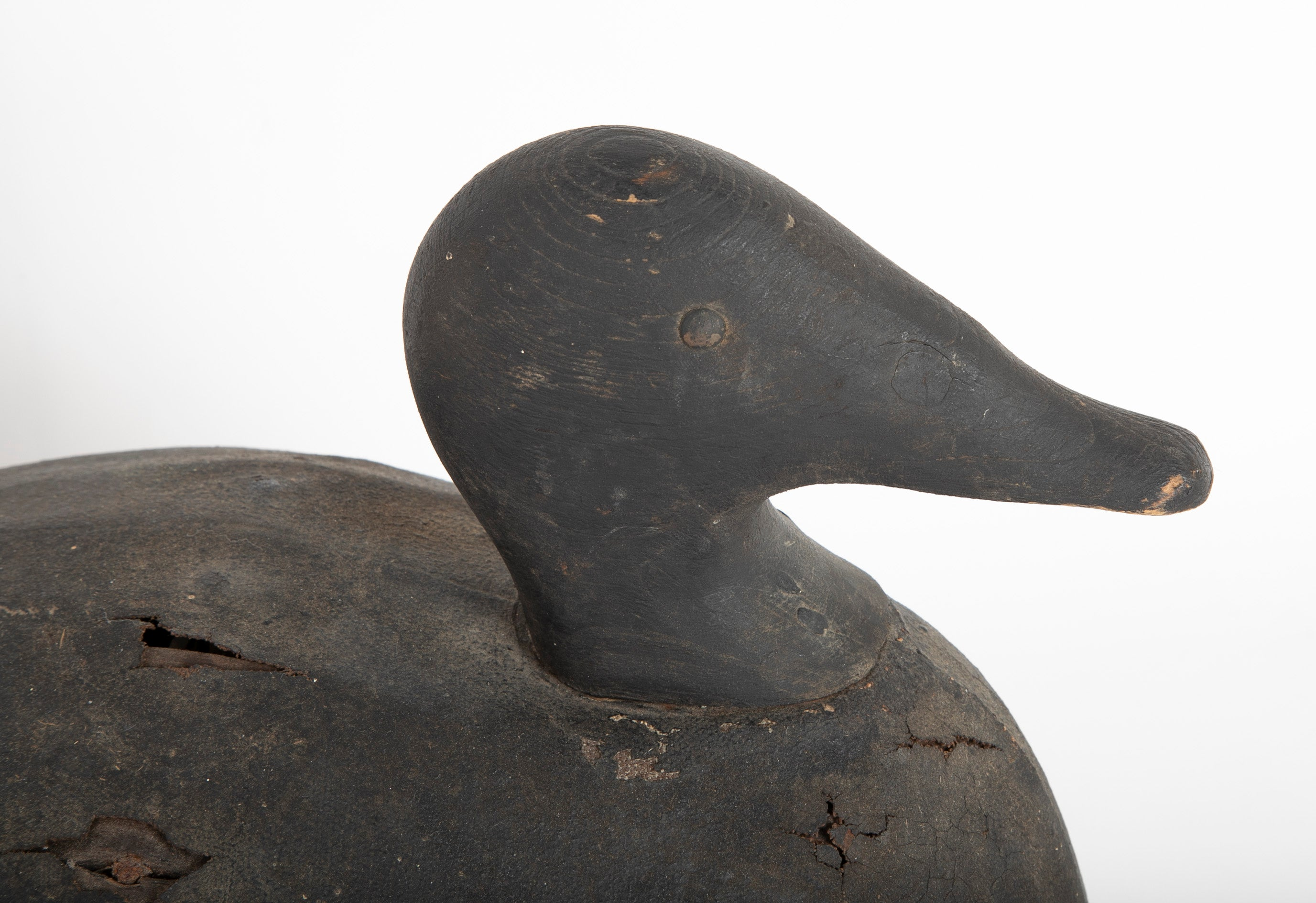 Early 20th Century Joe Lincoln Scoter Decoy
