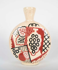 A French Moderne Period Primavera Vase by Jean Olin