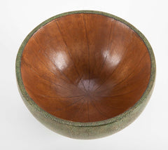Contemporary French Shagreen Bowl for R & Y  Augousti
