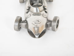 Mid-Century Pewter Model of a Ferrari