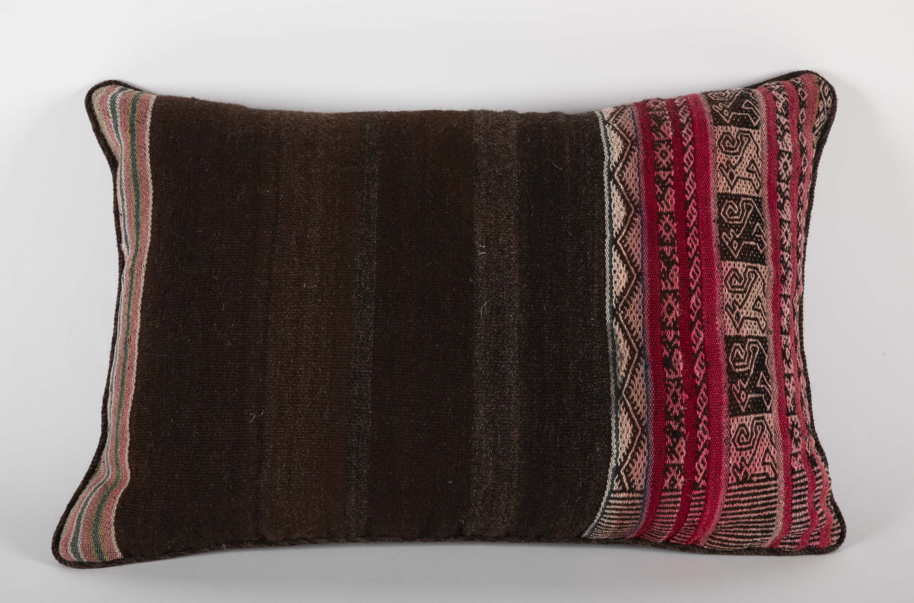 Pair of South Americans Textile Pillows
