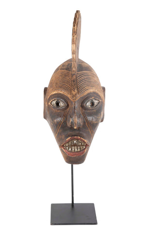 Nigerian Mask with Stand