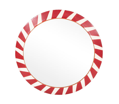 Belgian Steel Convex Railroad Mirror