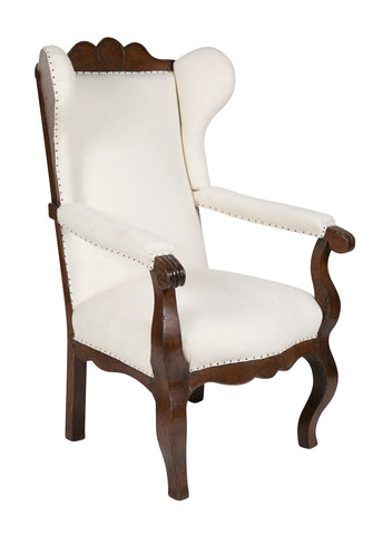 Early 19th Century Anglo Dutch Highback Armchair