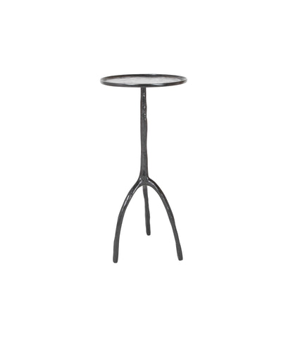 Christian Liaigre Patinated Bronze Side Table
