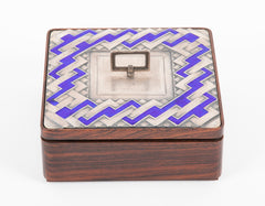 Four Sterling Silver Italian Enameled Boxes by Ottaviani Priced Individually
