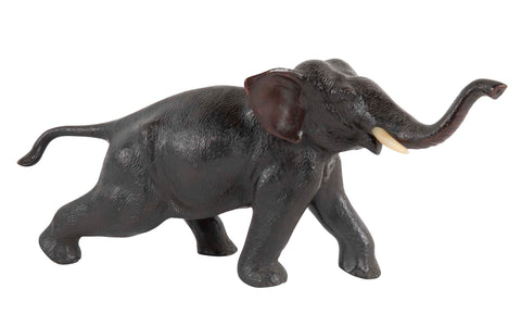 Meiji Period Japanese Bronze Elephant