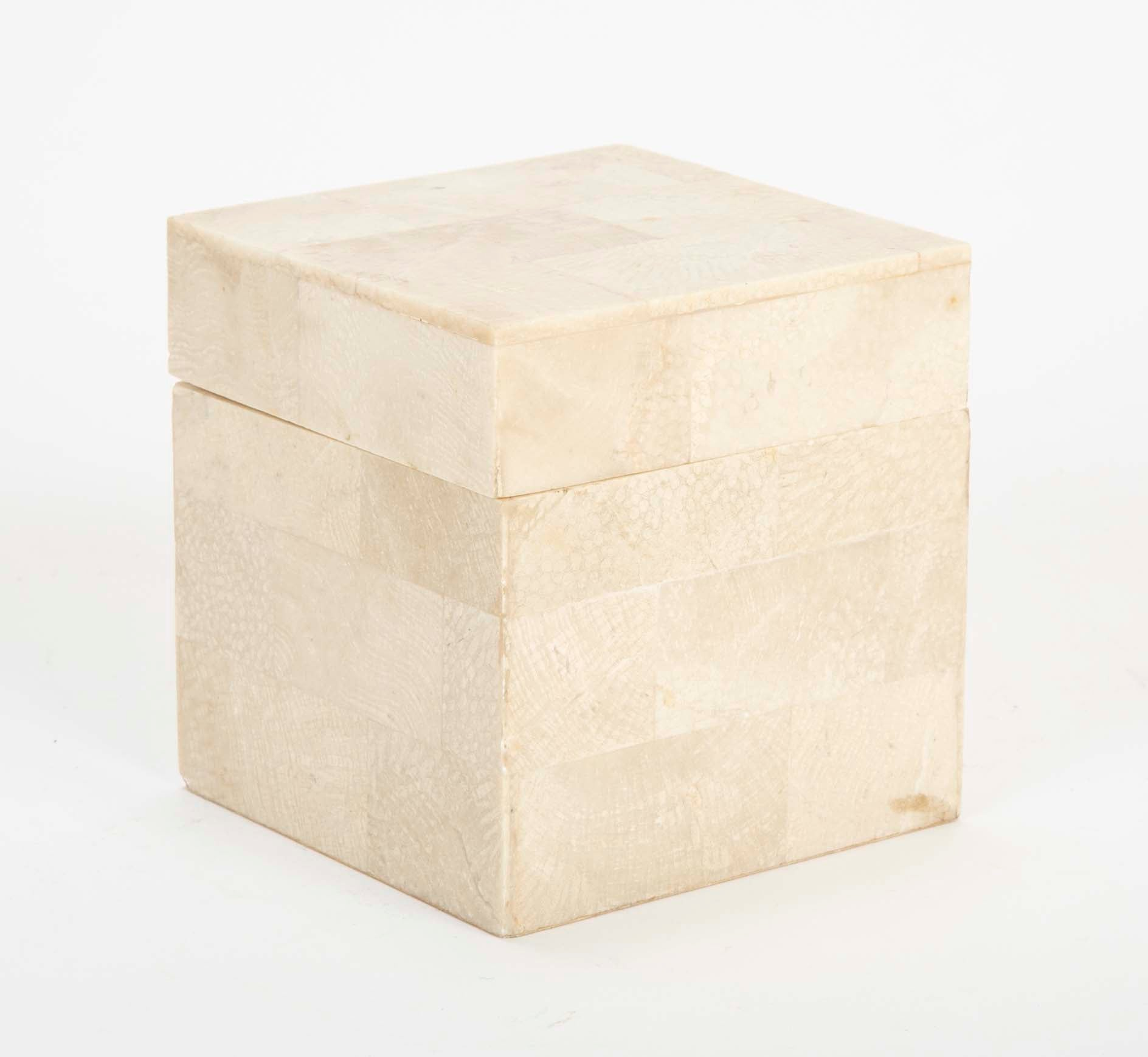 Small Tessellated Marble Box by MaitlansdSmith