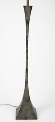 Patinated Bronze Floor Lamp by Stuart Ross James for Hansen