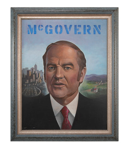 Original George McGovern Campaign Art