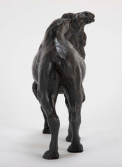 Sculpted Japanese Bronze of a Bactrian Camel
