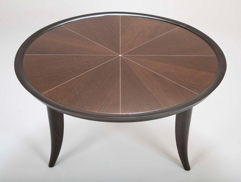 Art Deco Style Coffee Table Inlaid With Faux Ivory Avery Dash Collections