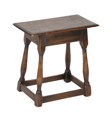 Oak Side Table in the Jacobean Taste