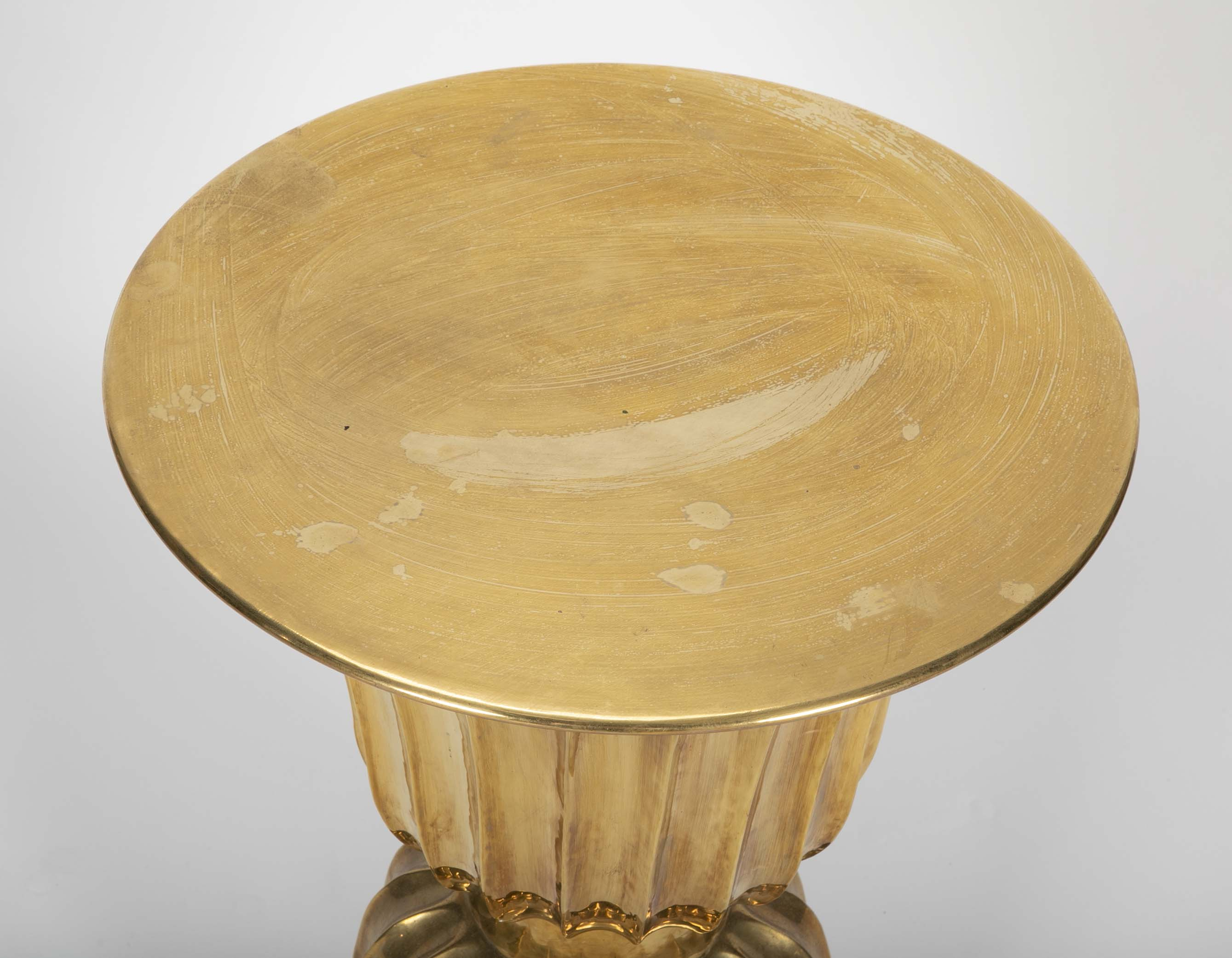 Brass Table in the Mughal Style