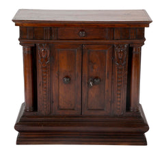 A 17th Century Italian Baroque Walnut Credenza