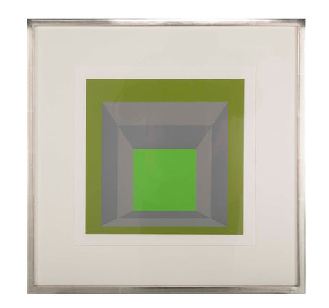 Josef Albers Homage to the Square from Formations: Articulation, 1972 Portfolio