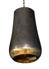 Scallop Light of Hand Hammered Brass
